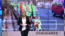 Julia Otero en el segundo programa de 'Ciudadanos'