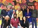 El equipo de JELO en el Centro LGTBI de Barcelona