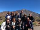 El equipo de JELO en el Parque nacional del Teide