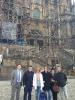 El equipo de JELO en Santiago de Compostela