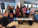 El equipo de JELO y el público asistente en la sede de Twitter España