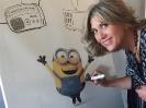 Julia Otero colabora con Unicef