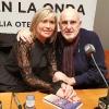Julia Otero con Antón Reixa