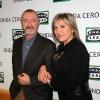 Julia Otero con Arturo Pérez-Reverte