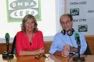 Julia Otero con el Dr. Santiago Dexeus
