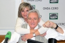 Julia Otero con Luis del Olmo