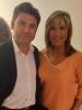 Julia Otero con Marc Vidal