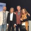 Julia Otero con María Dueñas, Boris Izaguirre y Fernando Múñez