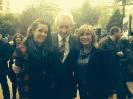 Julia Otero con Ona Carbonell y Luis Del Olmo