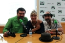 Julia Otero con Paco Tous y José Corbacho