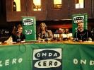 Julia Otero con Raquel Martos y Juan Gómez-Jurado en Bilbao
