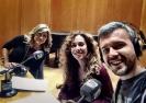 Julia Otero con Raquel Martos y Juan Gómez-Jurado en Valencia