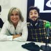 Julia Otero con Salvador Sobral