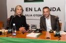 Julia Otero con Xulio Ferreiro