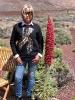Julia Otero en el Parque nacional del Teide