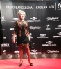 Julia Otero en la alfombra roja de los Premios Ondas 2013