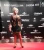 Julia Otero en la alfombra roja de los Premios Ondas 2013