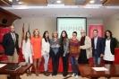Julia Otero en la foto de familia de la entrega del Premio Nipho de periodismo