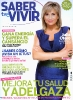 Julia Otero en la portada de Saber Vivir