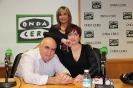 Julia Otero, Manuel Delgado y Anna Grau