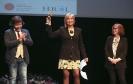 Julia Otero recoge el Premio José Couso de Libertad de Prensa