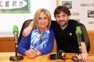 Julia Otero y Jordi Évole