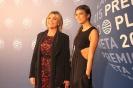 Julia Otero y su hija Candela en los Premios Planeta 2015