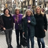 Las muejeres de JELO en la manifestación del 8M en Barcelona