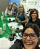 Mesa de redacción con Clara Jiménez Cruz, Marina Martínez Vicens, Goyo Benítez y Aneyma León