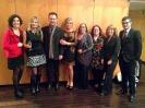 Representación del equipo de JELO en la gala de los Premios Ondas